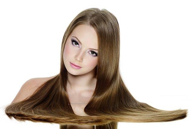 Japanese straightened hair