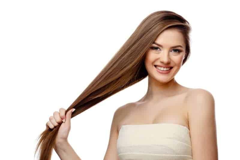Brazilian Blowout treated hair